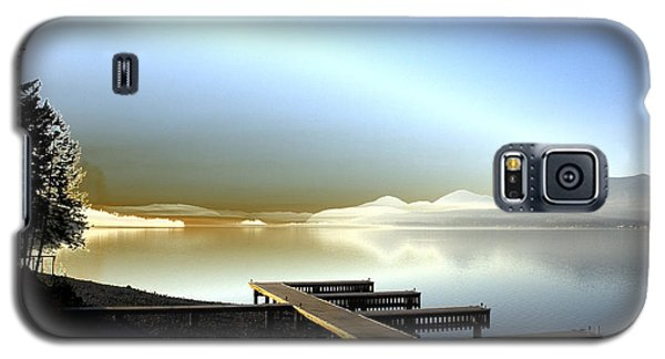 Lake Pend D'oreille Fantasy Galaxy S5 Case