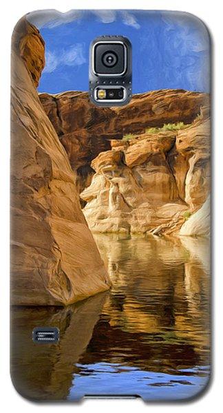 Lake Powell Stillness Galaxy S5 Case by Dominic Piperata