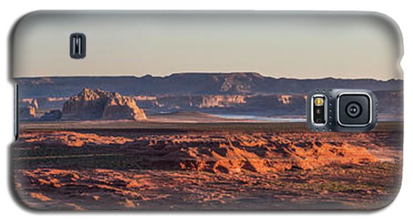 Lake Powell Sunrise Panorma Galaxy S5 Case