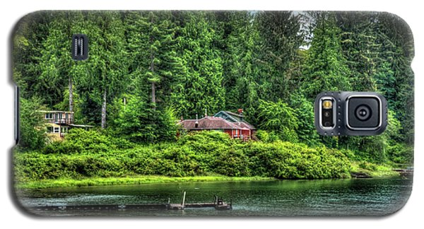 Lake Quinault 3 Galaxy S5 Case by Richard J Cassato