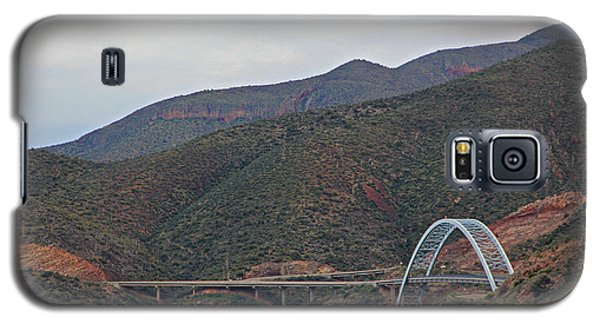 Lake Roosevelt Bridge 2 Galaxy S5 Case