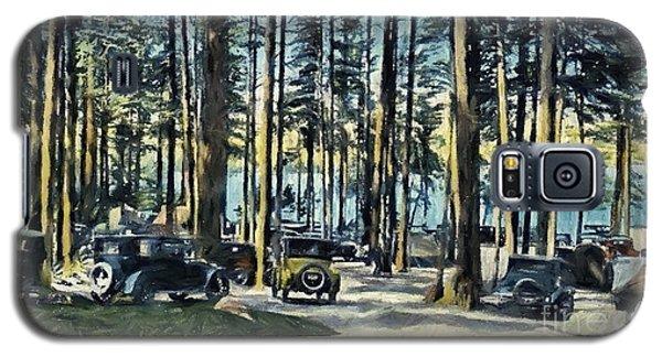 Lake Shore Park - Gilford N H Galaxy S5 Case by Mim White