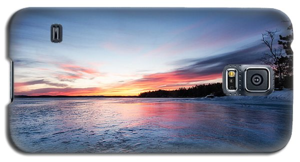 Galaxy S5 Case featuring the photograph Lake Shot by Robert Clifford