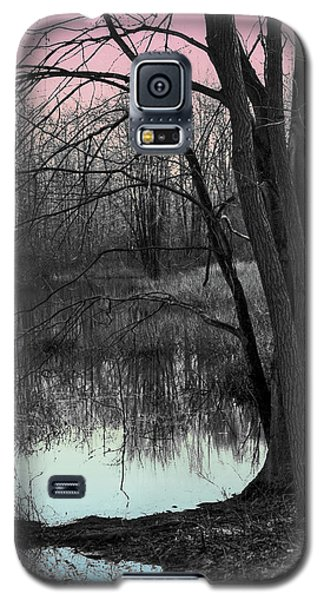 Lake Sunset Galaxy S5 Case by Terry Cork