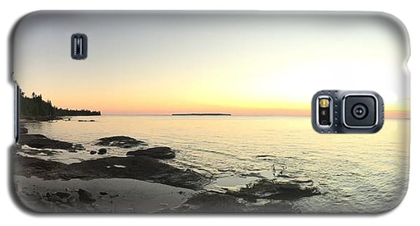 Lake Superior Evening Sky Galaxy S5 Case by Paula Brown