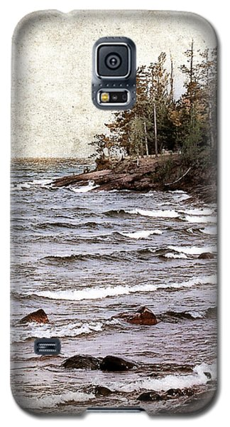 Lake Superior Waves Galaxy S5 Case by Phil Perkins