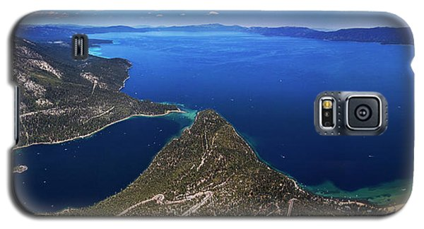 Lake Tahoe Aerial Panorama - Emerald Bay Aerial Galaxy S5 Case