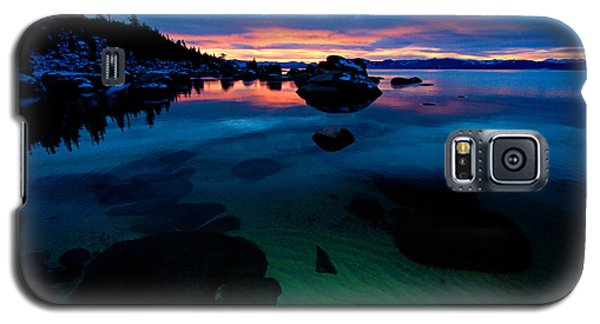 Lake Tahoe Clarity At Sundown Galaxy S5 Case