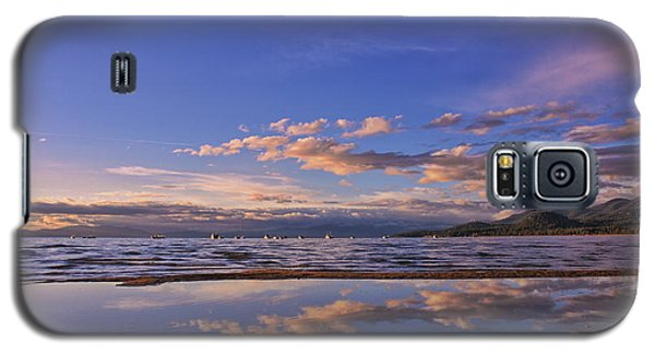 Lake Tahoe Evening Galaxy S5 Case