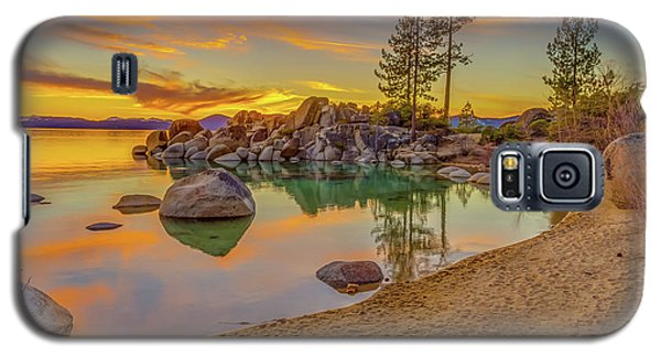 Lake Tahoe Majestic Sunset Galaxy S5 Case