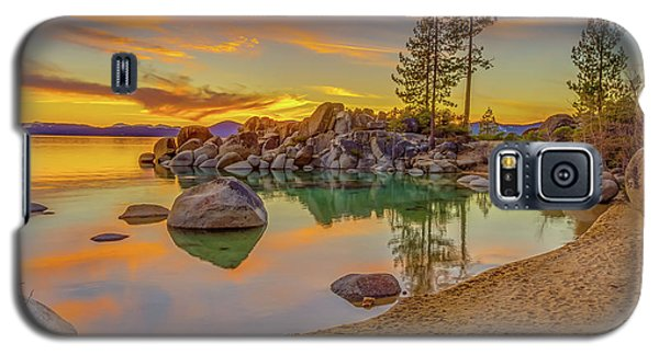 Lake Tahoe Majestic Sunset Galaxy S5 Case