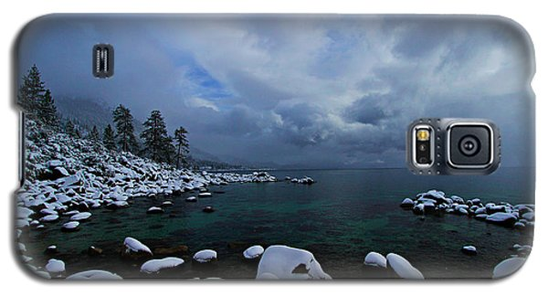 Lake Tahoe Snow Day Galaxy S5 Case