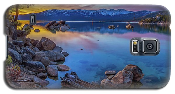 Lake Tahoe Spring Kaleidoscope  Galaxy S5 Case