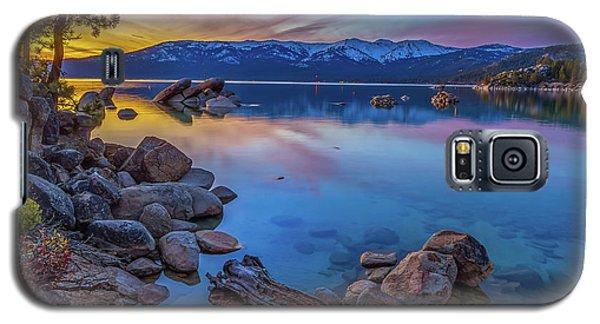Lake Tahoe Spring Kaleidoscope  Galaxy S5 Case