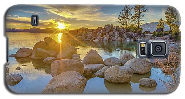 Lake Tahoe Spring Starburst Galaxy S5 Case