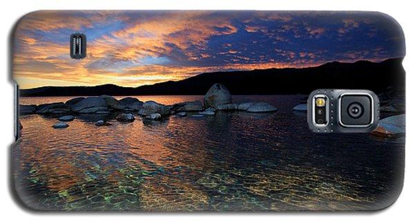 Lake Tahoe Sundown Galaxy S5 Case