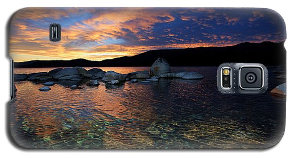 Lake Tahoe Sundown Galaxy S5 Case