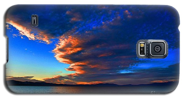 Lake Tahoe Sunset Galaxy S5 Case by Irina Hays