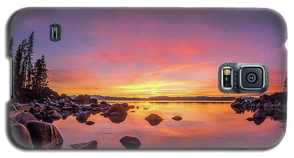 Lake Tahoe Sunset Peace Galaxy S5 Case