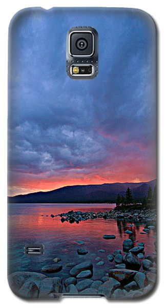 Lake Tahoe Sunset Portrait 2 Galaxy S5 Case