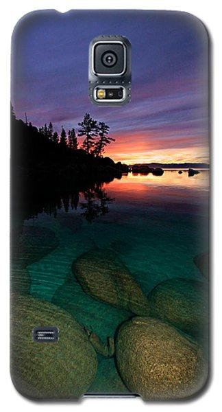 Lake Tahoe Sunset Portrait Galaxy S5 Case