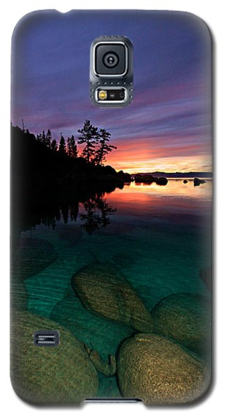 Lake Tahoe Sunset Portrait Galaxy S5 Case