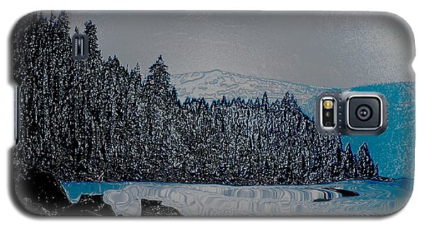 Lake Tahoe Wrapped Galaxy S5 Case