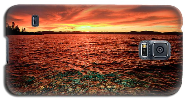 Lake Tahoe...blood Moon Sunset Galaxy S5 Case
