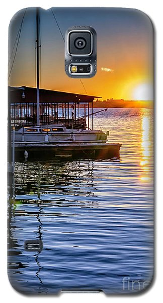 Galaxy S5 Case featuring the photograph Lake Travis by Walt Foegelle