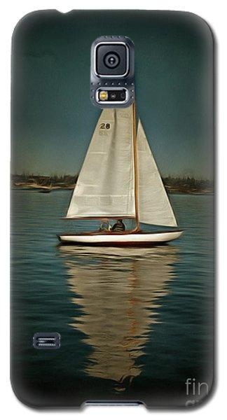 Lake Union Day Sailing Galaxy S5 Case