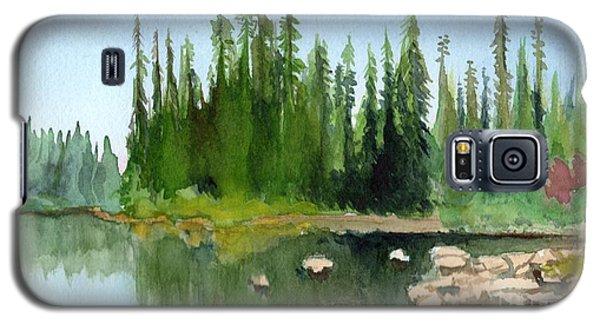 Lake View 1 Galaxy S5 Case by Yoshiko Mishina