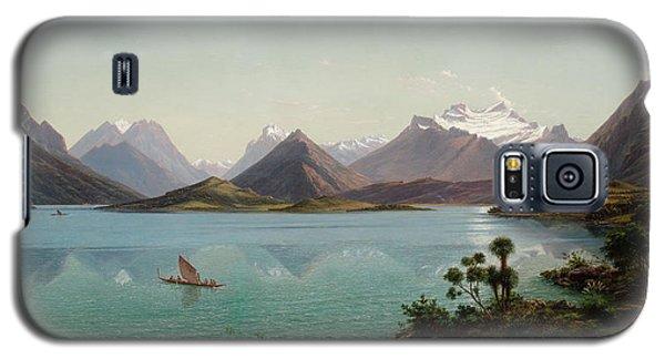 Lake Wakatipu With Mount Earnslaw. Middle Island New Zealand Galaxy S5 Case