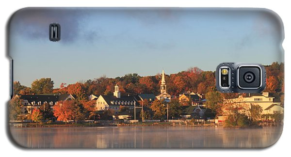 Lake Winnipesaukee Meredith Autumn Morning Galaxy S5 Case