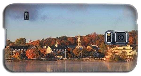 Lake Winnipesaukee Meredith Autumn Morning Galaxy S5 Case