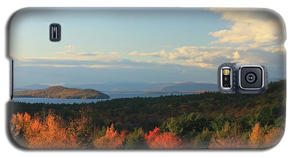 Lake Winnipesaukee Overlook In Autumn Galaxy S5 Case