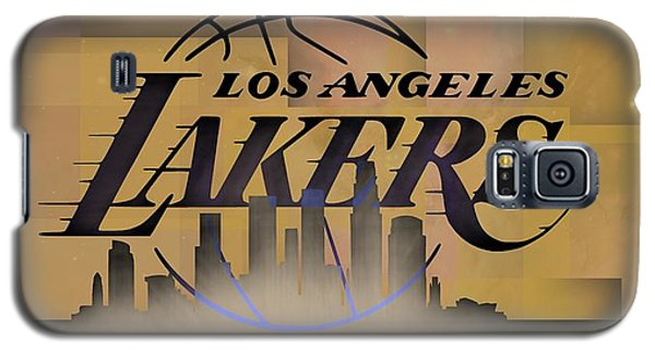 Lakers Skyline Galaxy S5 Case