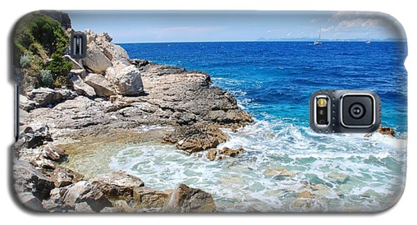 Lakka Coastline On Paxos Galaxy S5 Case