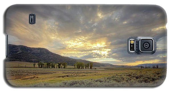 Lamar Valley Sunset Galaxy S5 Case