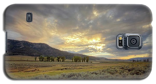 Lamar Valley Sunset Galaxy S5 Case