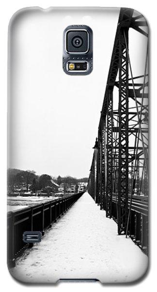 Lambertville New Hope Bridge In Winter Galaxy S5 Case