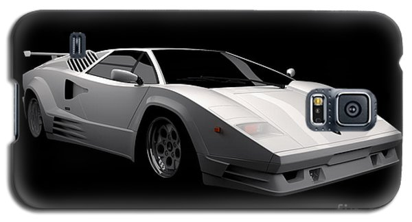 Lamborghini Countach 5000 Qv 25th Anniversary Galaxy S5 Case
