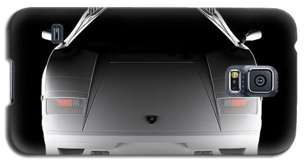 Lamborghini Countach 5000 Qv 25th Anniversary - Front View  Galaxy S5 Case