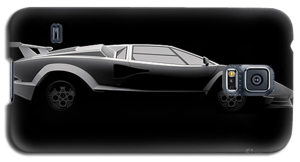 Lamborghini Countach 5000 Qv 25th Anniversary - Side View Galaxy S5 Case