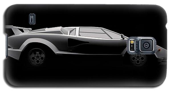 Lamborghini Countach 5000 Qv 25th Anniversary - Side View Galaxy S5 Case