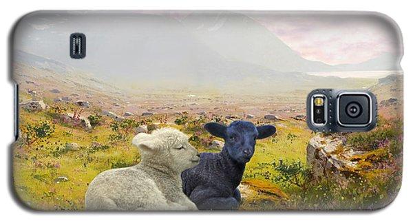 Lambs On A Hillside Galaxy S5 Case
