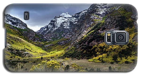 Lamoille Canyon In Fall Galaxy S5 Case