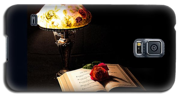 Lamp Bible And Rose Galaxy S5 Case