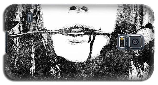 Lana Del Rey Bw Portrait Galaxy S5 Case