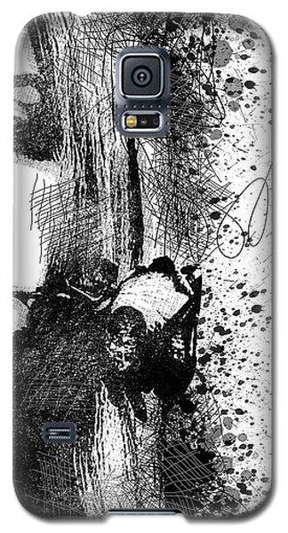 Lana Del Rey Half Face Portrait 2 Galaxy S5 Case