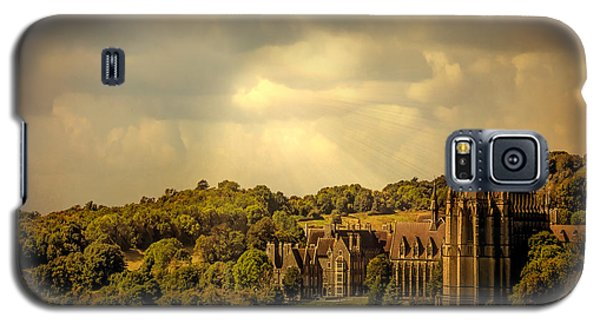 Galaxy S5 Case featuring the photograph Lancing College by Chris Lord